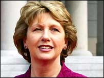 Irish President Mary McAleese