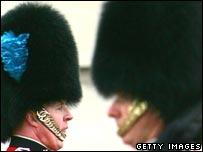 Bearskin helmets