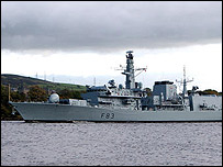 Type 23 frigate