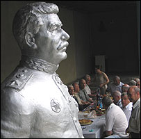 Stalin statue in Germenchik