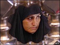 Женщина в хиджабе