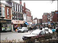 Kettering town centre