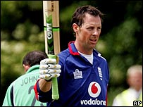 Trescothick's innings provided the backbone for England