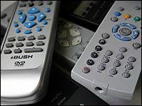 TV controls