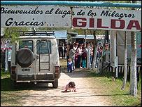 Santuario de los Milagros de Gilda