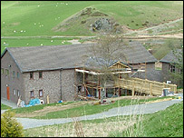Rhoserchan Project's new headquarters in Penrhyncoch, near Aberystwyth (picture: Ceredigion Council)