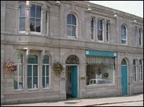 Cornwall Centre. Picture courtesy Cornwall County Council