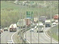 Busy A14