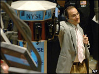 Trader on the NYSE