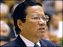 Vietnamese Transport Minister Dao Dinh Binh