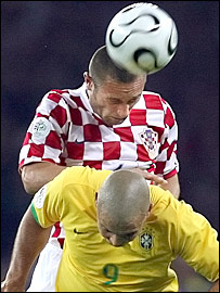 Robert Kovac gets to grips with Ronaldo