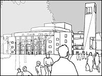 Design for new Royal Shakespeare Theatre