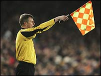 Know your assistant referee signals?