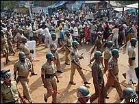 Police in Andhra Pradesh