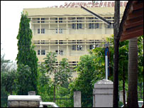 Government hospital in Rangoon