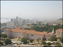 Luanda city centre