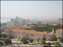 Luanda city centre