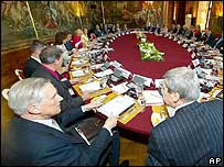 EU foreign ministers meeting in Austria