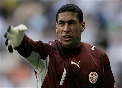 Tunisia keeper Ali Boumnijel
