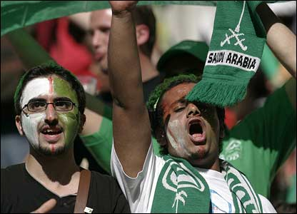 Saudi Arabia fans