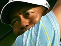 World No 1 Tiger Woods has not played a tournament since the Masters after his father's death