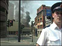 Manchester Arndale after the bomb