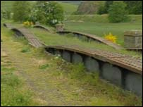 The Waverley line through the Borders closed in 1969