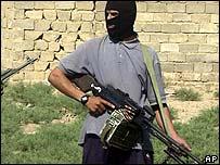 Iraqi insurgent in Falluja