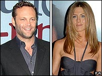 Vince Vaughn and Jennifer Aniston