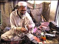 Master gunmaker Haji Alizai