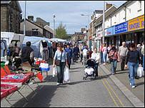 Market in Blaenau Gwent
