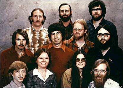 The founders of Microsoft