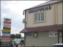 The Hollywood restaurant, Grozny