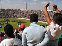 The ceremony to commemorate the Soweto uprising