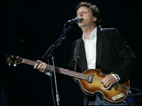 Sir Paul at Live 8