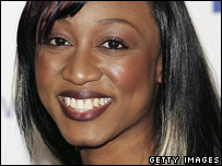 Singer Beverley Knight