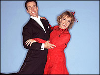 Esther Rantzen in Strictly Come Dancing