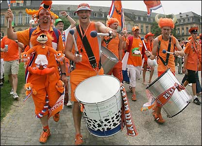 Holland fans 