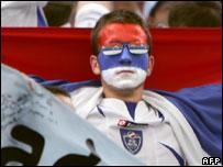 Serbia and Montenegro fan