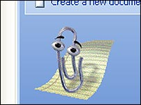 The Outlook paper clip