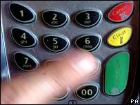 Pin keypad