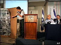 Israel Defence Forces press briefing (AP)