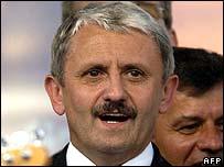 Slovak Prime Minister Mikulas Dzurinda