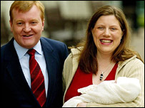Charles Kennedy, wife Sarah and baby Donald