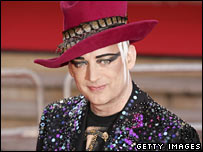 Boy George, real name George O'Dowd