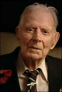 Harry Patch :Photograph by Niall Stewart and Richard Cable