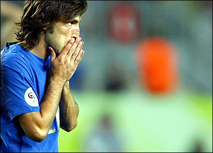 Andrea Pirlo following Italy's 1-1 draw with America