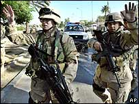 US troops in Baghdad