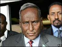 Interim Somali President Abdullahi Yusuf