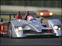 Marco Werner in the Audi R10 Diesel